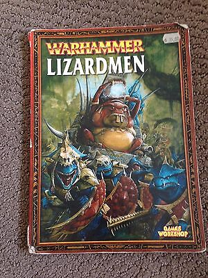 Warhammer 6th Edition Lizardmen Army Book - OOP