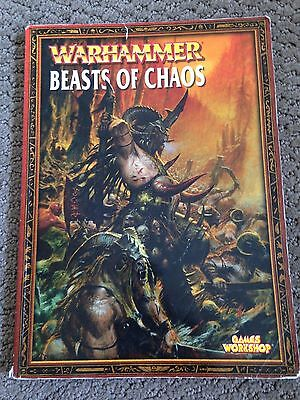 Warhammer 6th Edition Beasts of Chaos Army Book - OOP