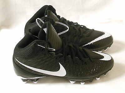 ... Nike Calvin Johnson CJ3 Pro TD Youth Football Cleats Black 723975-010  Size 4.5Y  Nike Mens CJ81 Calvin Johnson Elite ... fd6bf51ca032