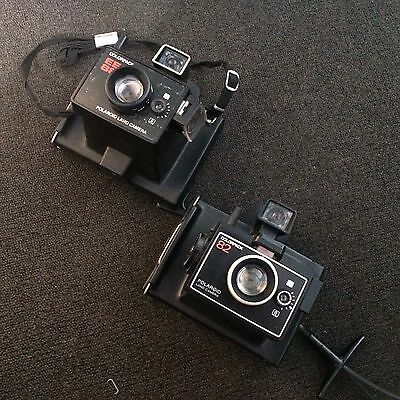 2x polaroid land camera: Colorpack 82& colorpack EE88