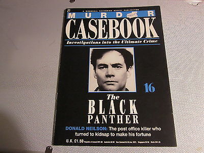 Donald Neilson, MURDER CASEBOOK 16, The Black Panther, Leslie Whittle.