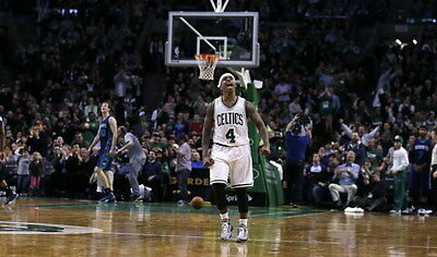 "057 Isaiah Thomas - BOSTON CELTICS Basketball NBA Star 23""x14"" Poster"