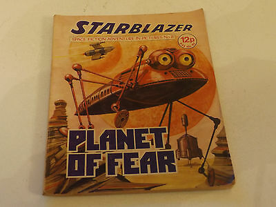 Starblazer Picture Library,no 08,1979 Issue,good For Age,very Rare Sci-Fi Comic