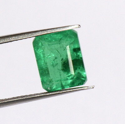 """Emerald Color """"Doublet"""" 10x8 mm Octagon Cut 3.35 Cts Green Shade Loose Gemstone"""