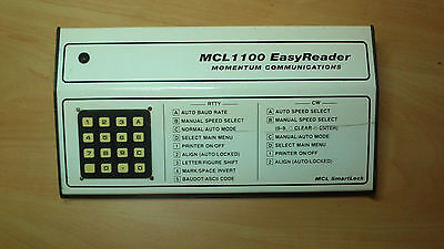 MCL1100 RTTY/CW Easy Reader