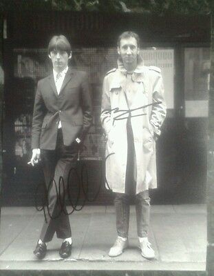 Pete Townshend & Paul Weller Genuine Hand Signed Autograph