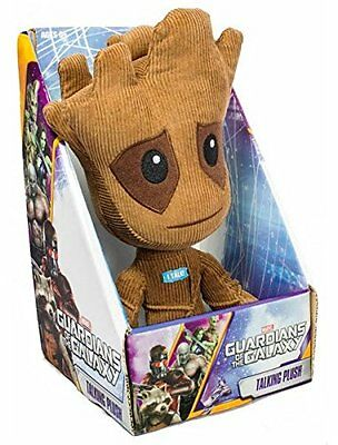 Guardians of the Galaxy Groot Talking Plush Soft Toy Figure GOG02390 Marvel New