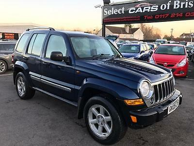 2005 Jeep Cherokee 2.8 TD Limited Station Wagon Auto 4x4 5dr