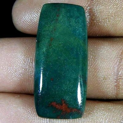 23.00Cts 100% NATURAL BEST DESIGNER BLOOD STONE CUSHION CABOCHON LOOSE GEMSTONE