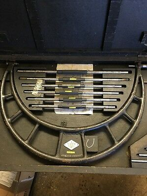 Moore And Wright Micrometer 300-450