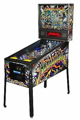 New Stern Metallica Pro Pinball Machine