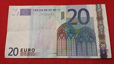 France Billet De 20 Euros - Faute - Marge Plus Grande - 2002 - U30963387488 Bank