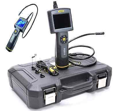 Heavy-Duty Video Inspection Camera System With Case-General Tools & Instruments