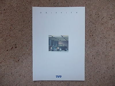 TVR Griffith 500 Sales Brochure