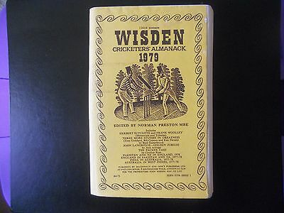 Wisden Cricketers Almanack 1979 - Softback