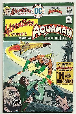 ADVENTURE COMICS #442 - ( DC Comics 1975) - VG+Fn.