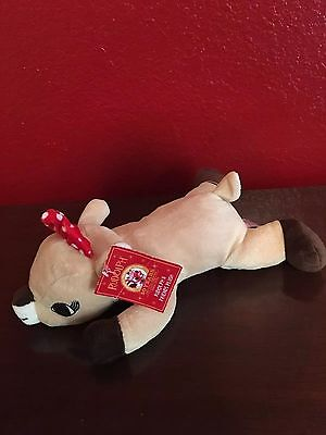 """Rudolph the Red Nosed Reindeer 13"""" Plush Character: Clarice Laying Down Plush"""