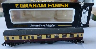 Graham Farish N Gauge BR 63ft MK1 Guard Brown/Cream WR