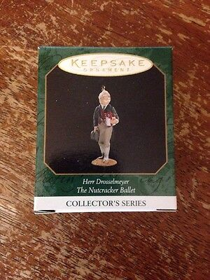 Hallmark Ornament Herr Drosselmeyer The Nutcracker Ballet Miniature #35-926J