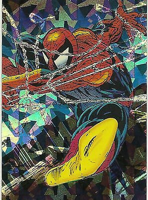 SPIDER-MAN -The MacFarlane Era trading cards PRISM Card #P-4