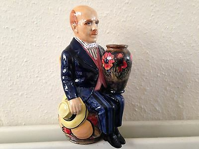 Kevin Francis By Peggy Davies Toby Jug - William Moorcroft. Artists Proof