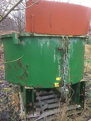 3 Point Linkage Pan Cement Mixer