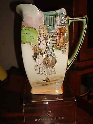 ~Rare~Royal Doulton~ Htf~Little Nell 6'5' Dickensware Friar Jug~Wow