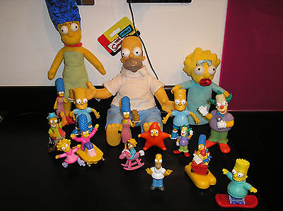 The Simpsons figures,large  lot of 17