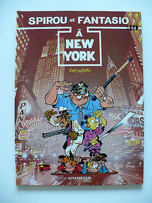 EO (comme neuf) - Spirou et Fantasio 39 (à New York) 1987 Janry & Tome