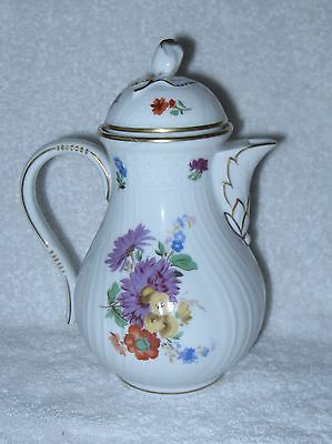 Hutschenreuther Moritzburg Dresden Small Coffee Pot with Lid 2.5 Cups