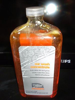 Car Wash Soap Concentrate Vroom 25 fluid ounces