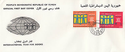 G 434 PDRY First Day Cover Year for Books 1972