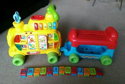 VTech Baby Push and Ride Alphabet Train with all letters