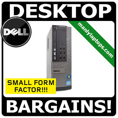 DELL OPTIPLEX 990 SMALL SFF DESKTOP i7 3.4GHZ 16GB 1TB SUPER FAST PC!!!