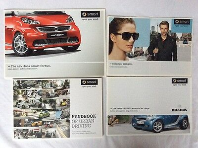 Collection of Smart Brabus ,Smart Fortwo Brochures & Handbook of Urban Driving