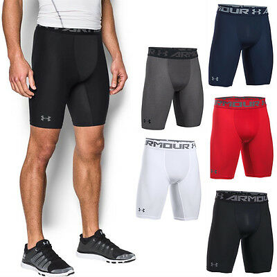 Under Armour UA Mens NEW 2017 HeatGear 2.0 Long Compression Shorts Baselayer