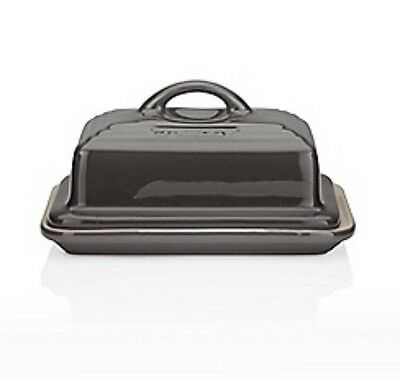 Le Creuset Grey Butter Dish Brand New