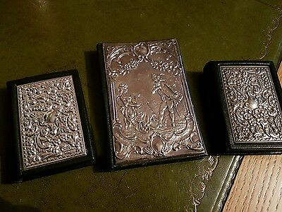 Antique solid silver Books