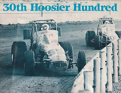 1982 Program USAC Silver Crown Hoosier 100 Mile Indiana State Fairgrounds