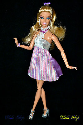 Articulated Jointed Posable Fashionistas Swappin Styles Barbie Doll