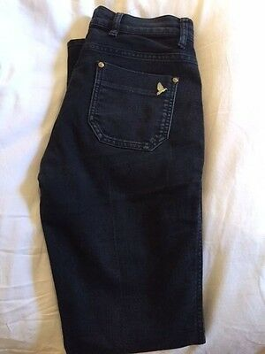 """Mih Oslo Jeans. Mid Rise Slim Leg. Black. Size 29/ 30"""". Good Condition"""
