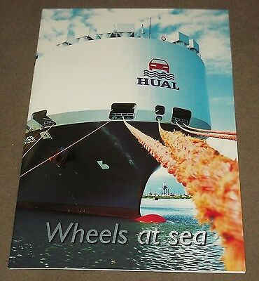 'Hual' (Leif Hoegh),  Car Carrying Vessels. Company Brochure. C.2004.