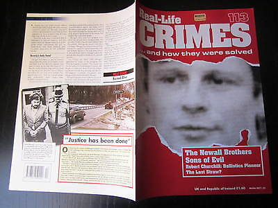 Roderick Newall  , REAL CRIMES 113, Alex Mengel, Beverly Capone, R Churchill.