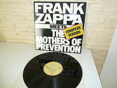 LP Frank Zappa Meets The Mothers Of Prevention LP Vinyl