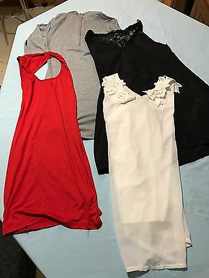 Lot Of 4 Women's Size S M Dress & Night Gowns Lingerie