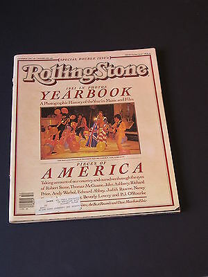 ROLLING STONE Newspaper #359 YEARBOOK 1981 IN PHOTOS