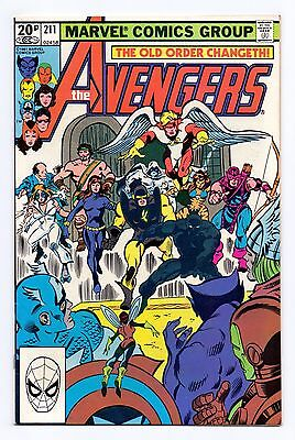 Marvel Comics: Avengers #211