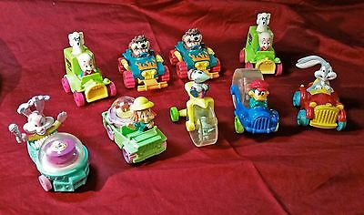 Set of 9 Looney Tunes & Tiny Toons McDonald's Toys: Bugs Bunny, Porky Pig & more
