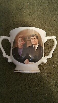 ** REDUCED** Commemorative cup -  HRH Prince Andrew & Sarah Ferguson