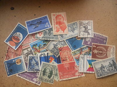 Australia OLD  STAMP Collection Used